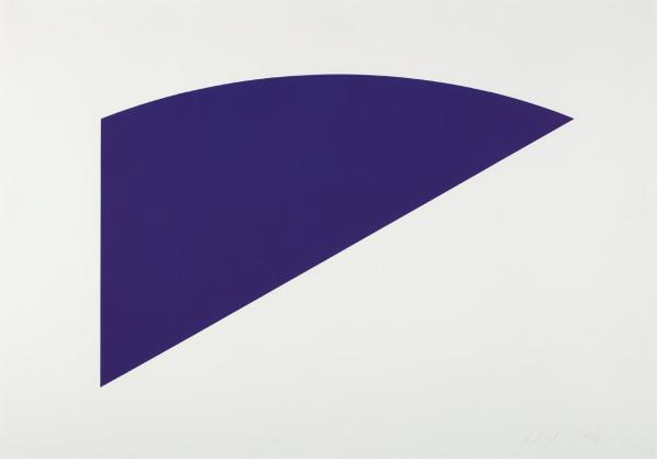 Ellsworth Kelly-Untitled, From Eight By Eight To Celebrate The Temporary Contemporary-1983
