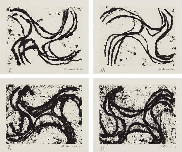 Richard Serra-Junction #2; Junction #3; Junction #10; And Junction #13-2010