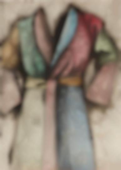 Jim Dine-Multi-Colored Robe-1977