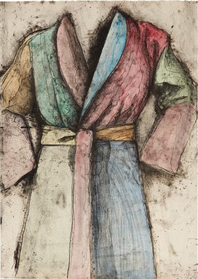 Jim Dine-Multi-Colored Robe-1977