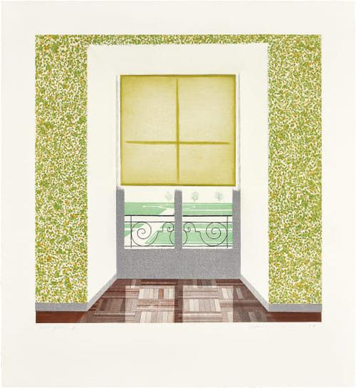 David Hockney-Contrejour In The French Style-1974