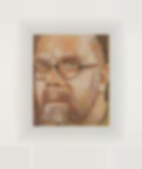 Chuck Close-Self Portrait/Squiggle/Etching-2000