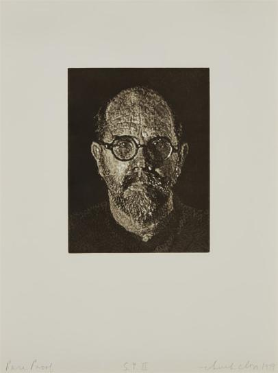 Chuck Close-S.P. II (Self-Portrait II)-1997