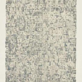 Jasper Johns-Gray Alphabets-1968
