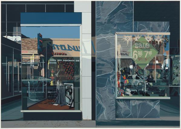 Richard Estes-Qualicraft Shoes-1974