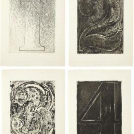 Jasper Johns-Fizzles (Foirades)-1976