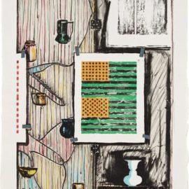Jasper Johns-Ventriloquist-1986