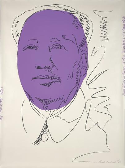 Andy Warhol-Mao (Wallpaper)-1974