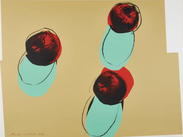 Andy Warhol-Apples, From Space Fruit: Still Lifes-1979