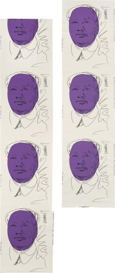 Andy Warhol-Mao (Wallpaper), Two Rolls-1974