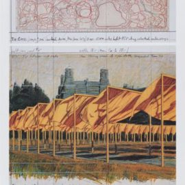 Christo and Jeanne-Claude-The Gates: Project For Central Park, New York City-2003