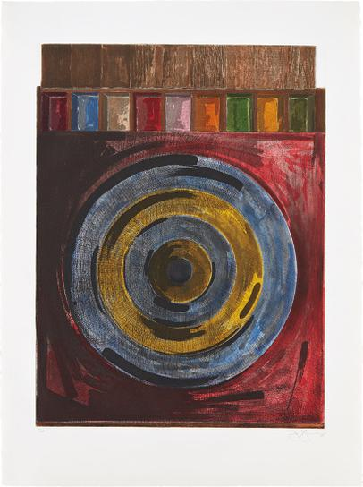Jasper Johns-Target With Plaster Casts-1980