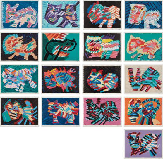 Karel Appel-Cats-1979