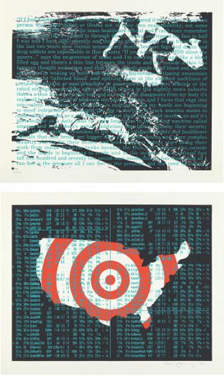 David Wojnarowicz-Untitled (Act Up Diptych)-1990