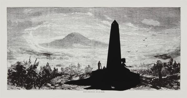 Kara Walker-Lost Mountain At Sunrise, From Harpers Pictorial History Of The Civil War (Annotated)-2005
