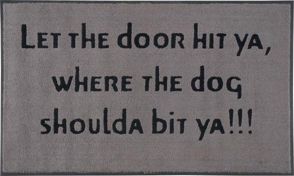 Carrie Mae Weems-Untitled (Let The Door Hit Ya, Where The Dog Shoulda Bit Ya!!!)-1992