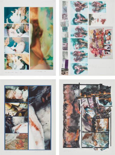 Carolee Schneemann-Four Kisses + Detail (Vesper); Dead Engineer-Kosovo; Hallucinatory I; And Hallucinatory Ii-2002