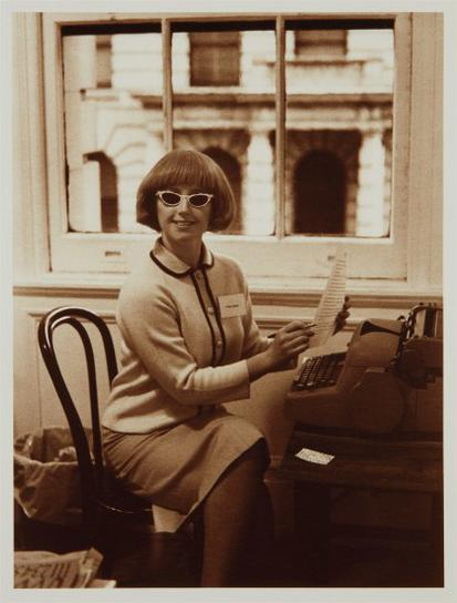 Cindy Sherman-Untitled (Secretary)-1993