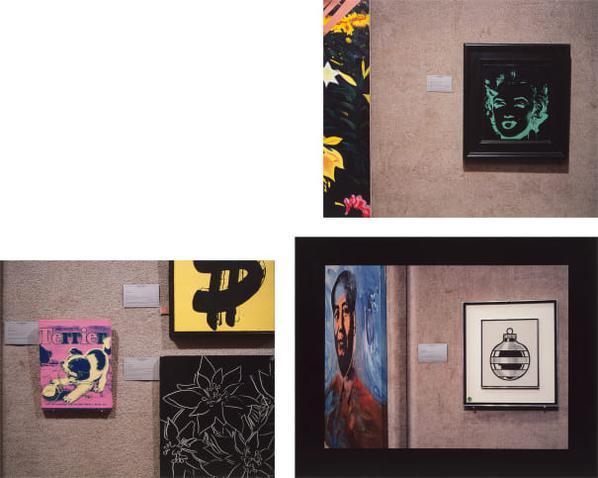 Louise Lawler-Untitled (Marilyn); Untitled (Three Warhols); And Untitled (Mao/Lichtenstein)-1991