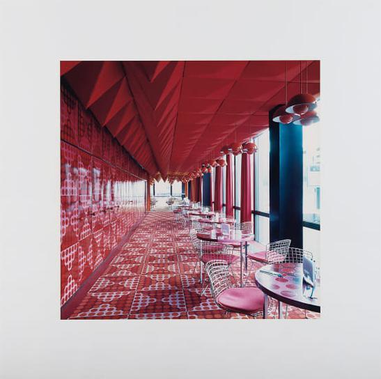 Candida Hofer-Spiegelkantine, Hamburg III-2000