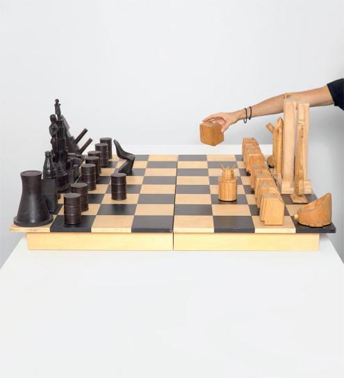 Constantin Boym And Laurene Boym - History Chess-2009