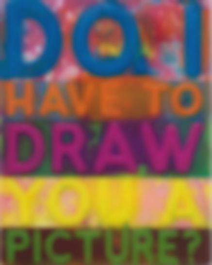 Mel Bochner-Do I Have To Draw You A Picture?-2017