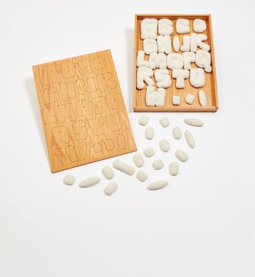 Claes Oldenburg-Soft Alphabet-1978