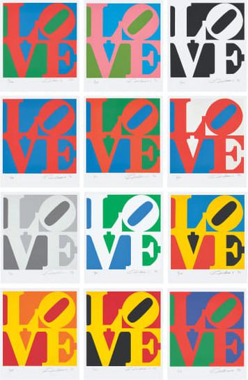 Robert Indiana-The Book Of Love-1996
