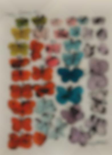 Andy Warhol-Happy Butterfly Day-1955