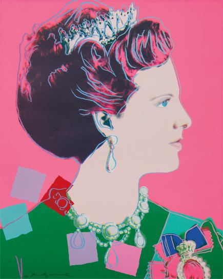 Andy Warhol-Queen Margrethe II Of Denmark, From Reigning Queens-1985