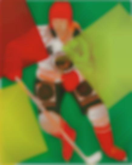 Andy Warhol-Frolunda Hockey Player-1986