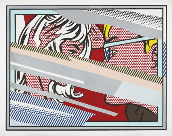 Roy Lichtenstein-Reflections On Conversation, From Reflections Series-1990