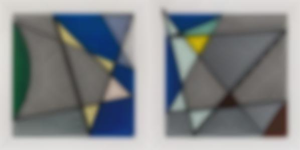 Roy Lichtenstein-Imperfect Diptych 46 1/4 X 91 3/8, From Imperfect Series-1988