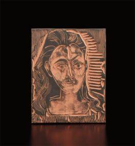 Pablo Picasso-Little Bust Of Woman (Petit Bust De Femme)-1964