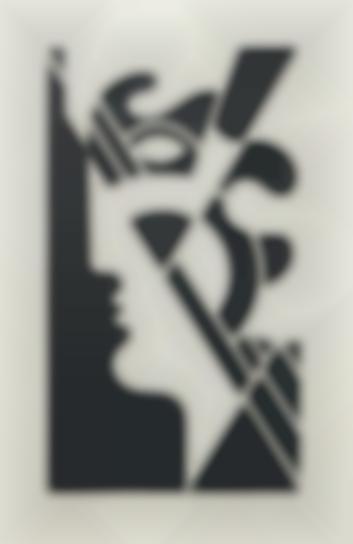 Roy Lichtenstein-Modern Head #5, From Modern Head Series-1970