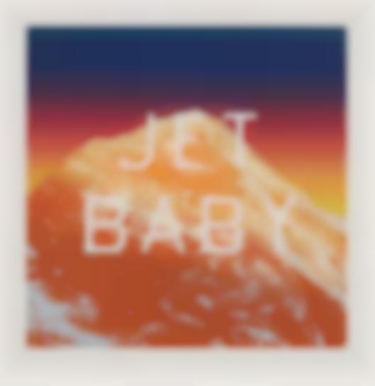 Ed Ruscha-Jet Baby-2012