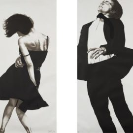 Robert Longo-Meryl And Jonathan, From Men In The Cities-1988