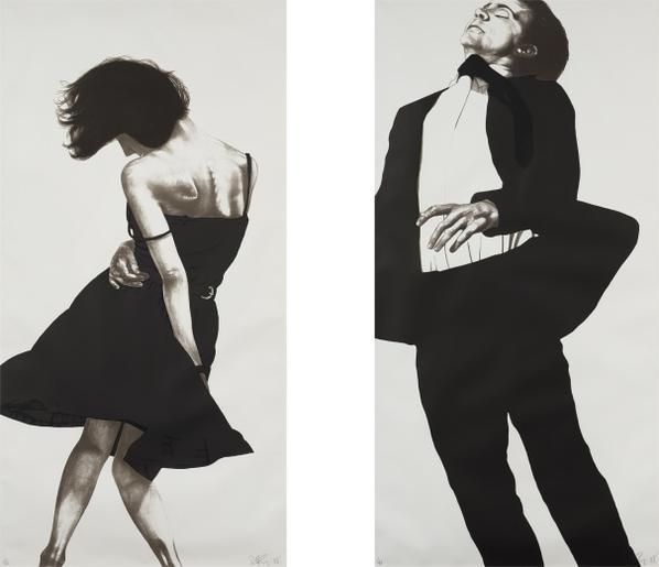 Robert Longo-Meryl And Jonathan, From Men In The Cities-1988