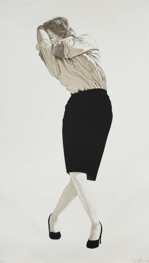 Robert Longo-Cindy-1984