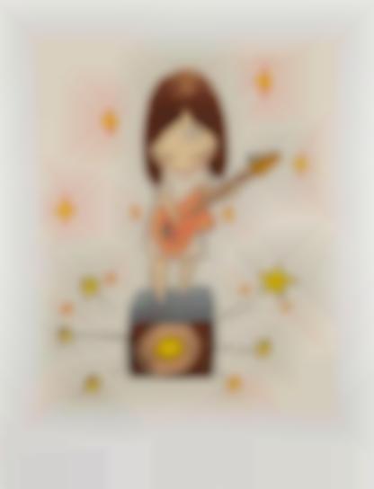 Yoshitomo Nara-Guitar Girl-2003