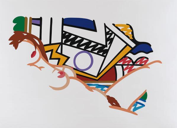 Tom Wesselmann-Monica Nude With Lichtenstein-2002