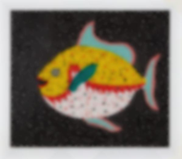 Yayoi Kusama-Fish-1986