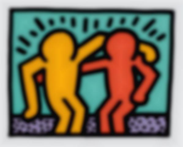 Keith Haring-Best Buddies-1990