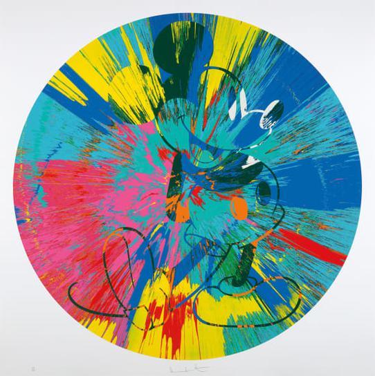 Damien Hirst-Beautiful Mickey-2015