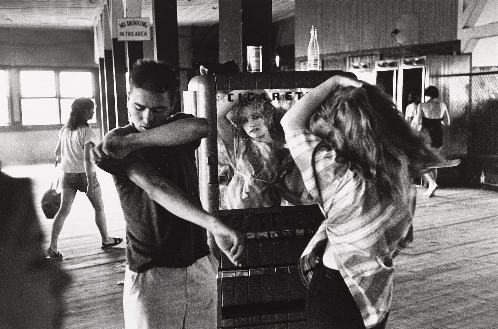 Bruce Davidson-Cathy, From Brooklyn Gang-1959