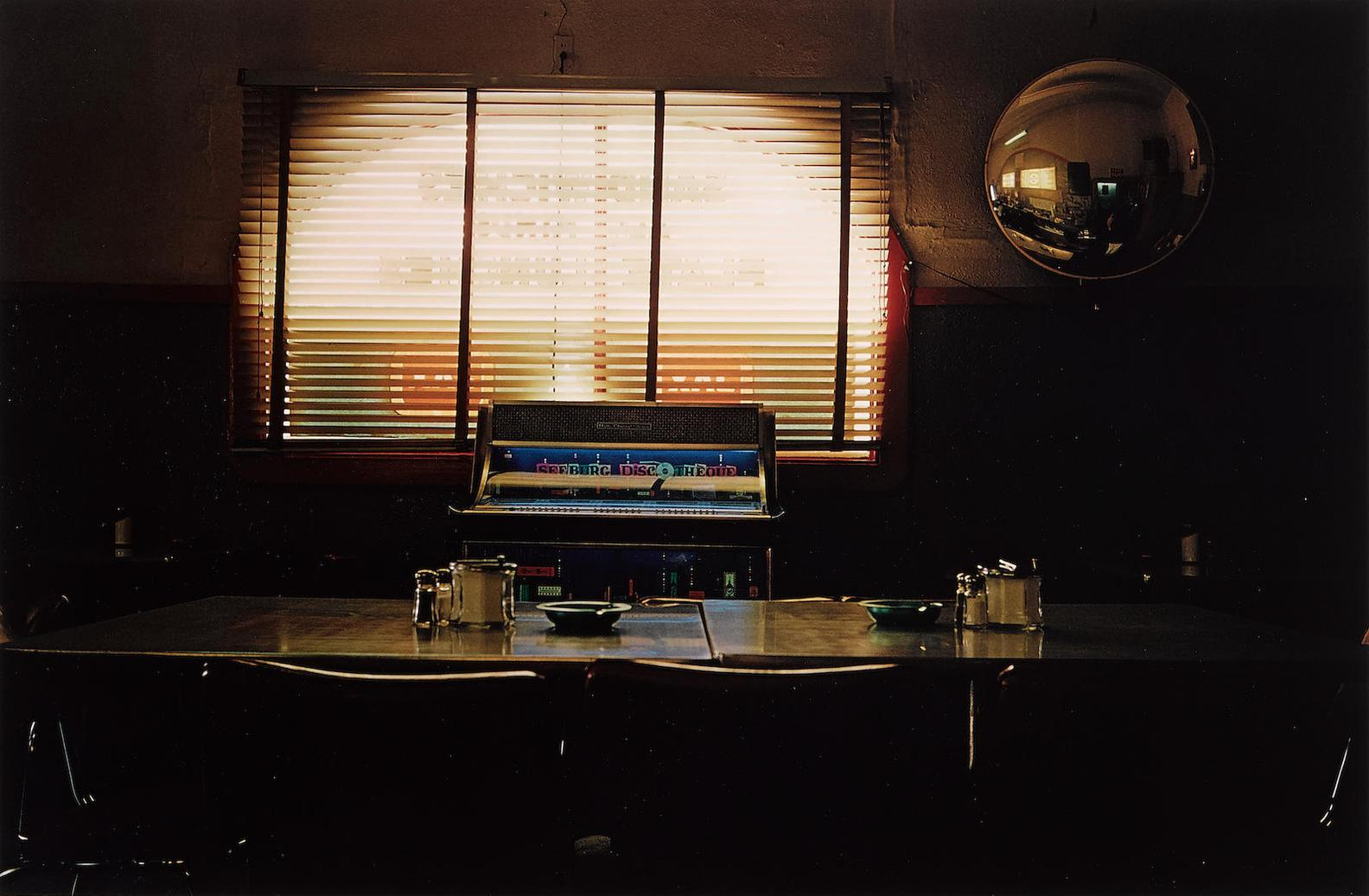 William Eggleston-Untitled (Table And Jukebox) From Troubled Waters-1980