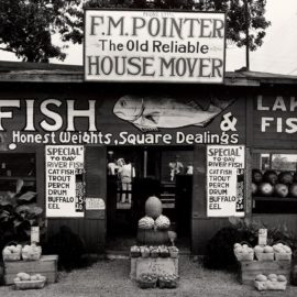 Walker Evans-Roadside Stand Near Birmingham, Alabama-1936