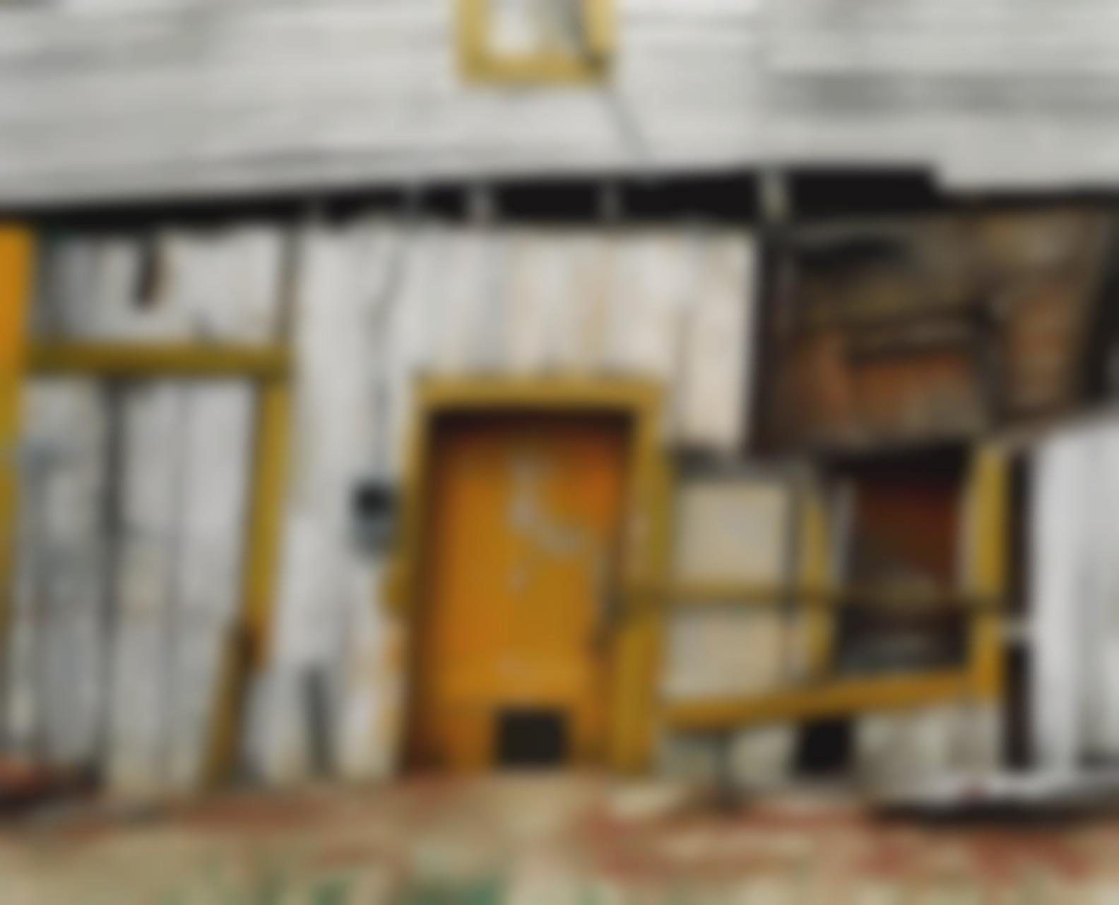 William Christenberry-Tb Hicks Store (Detail), Newbern, Alabama-1991