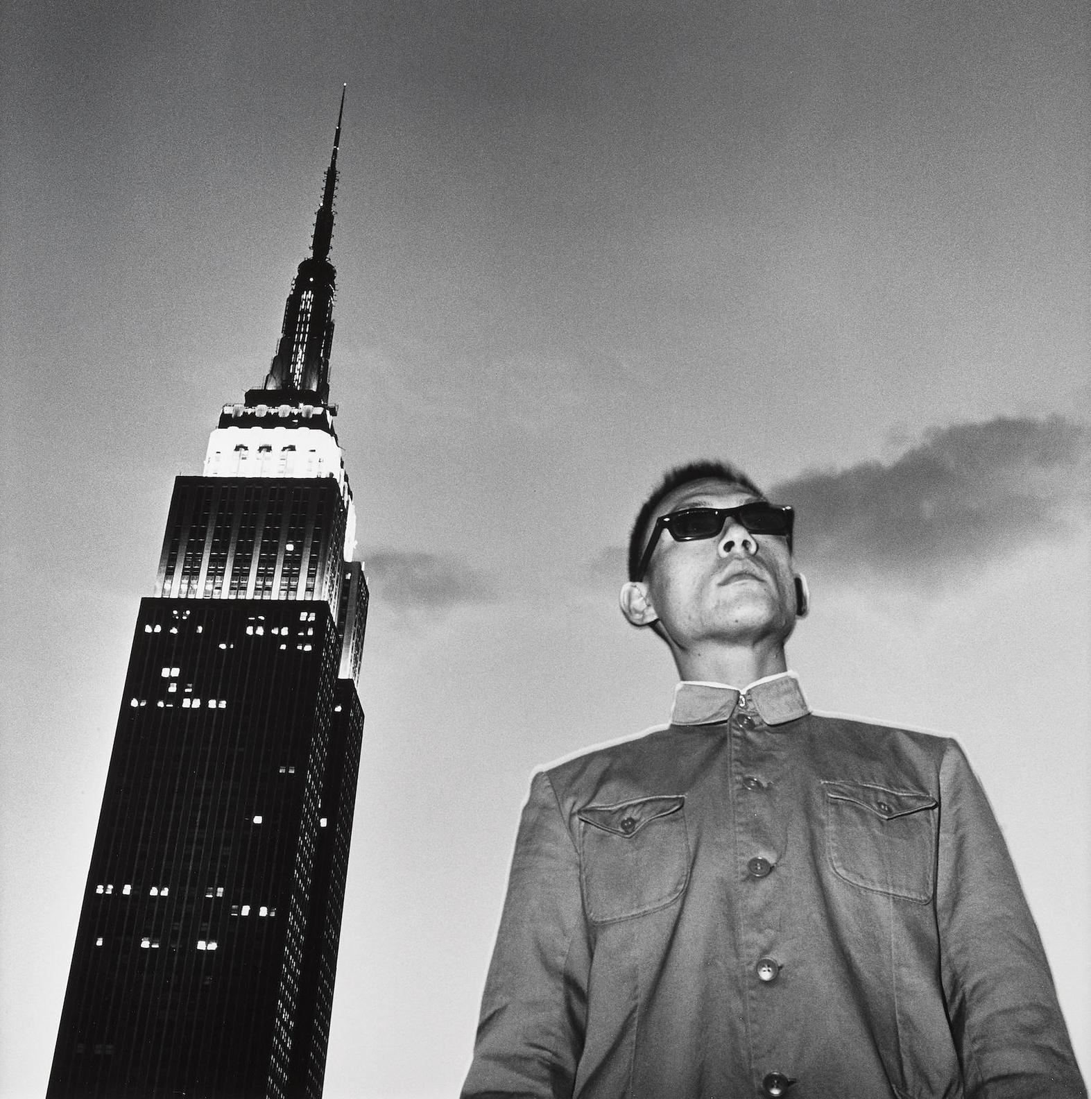 Tseng Kwong Chi-Empire State Building, New York-1979