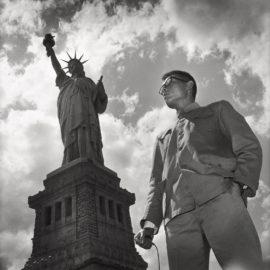 Tseng Kwong Chi-Statue Of Liberty, New York-1979